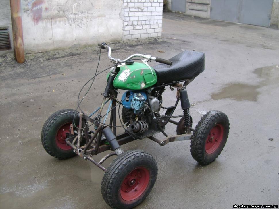 Как сделать детский самодельный квадроцикл